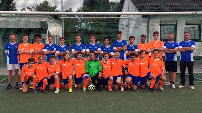 Die C1 des FC34 Bierstadt spielt in dieser Saison Gruppenliga.