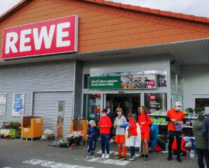 Verkaufsstart am Rewe in Bierstadt